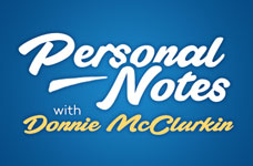 Personal Notes with Donnie McClurkin